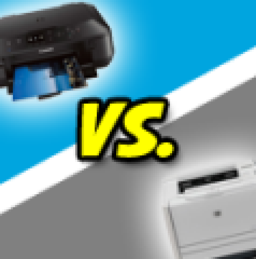 Inkjet Printer vs Laser Printing Comparisons