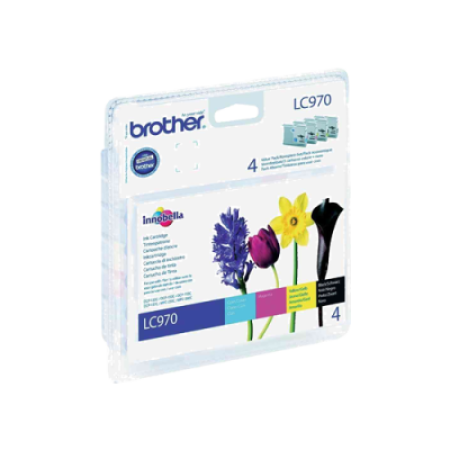 Brother LC970 Ink Cartridge Multipack BK/C/M/Y Original