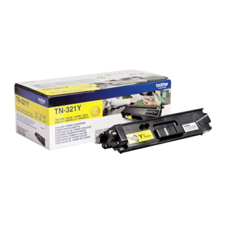 Brother TN-321Y Yellow Toner Cartridge