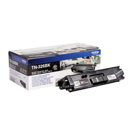 Brother TN-326BK Black High Capacity Toner Cartridge