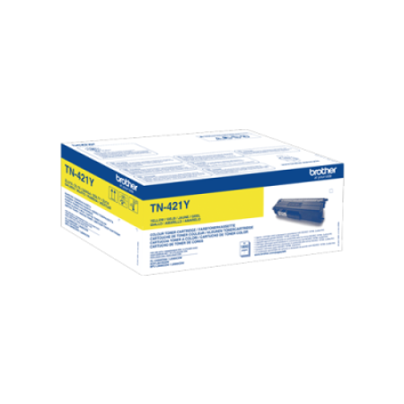 Brother TN-421Y Yellow Toner Cartridge