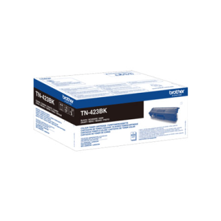 Brother TN-423BK High Capacity Black Toner Cartridge