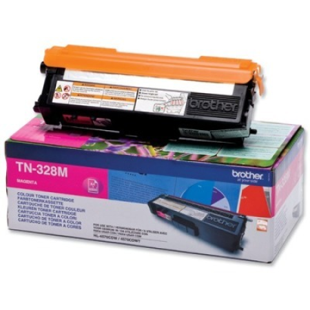 Brother TN328M Magenta High Capacity Toner Cartridge