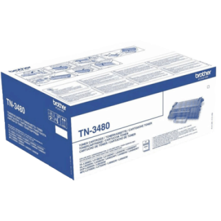 Brother TN3480 Toner Cartridge Black High Capacity