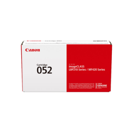 Canon 052 Original Black Toner Cartridge - 2199C002