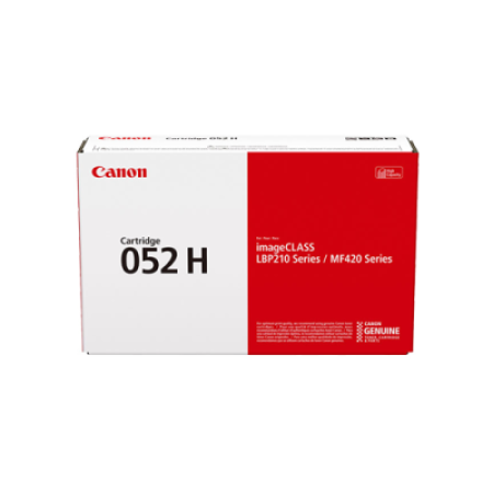 Canon 052H Toner Cartridge Black Original 2200C002