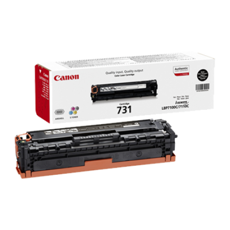 Canon 731 Toner Cartridge Black Original