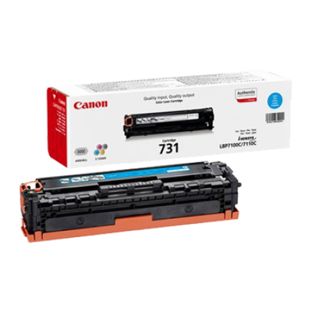 Canon 731 Toner Cartridge Cyan Original