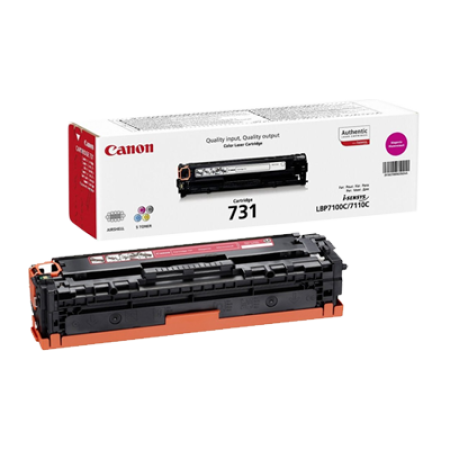Canon 731 Toner Cartridge Magenta Original