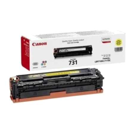 Canon 731 Toner Cartridge Yellow Original