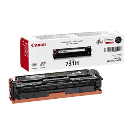 Canon 731H Toner Cartridge Black High Capacity Original