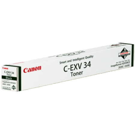Canon C-EXV34 Black Toner Cartridge - 3782B002