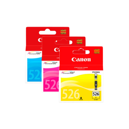Canon CLI-526 Multipack Colour Ink Cartridges C/M/Y Original