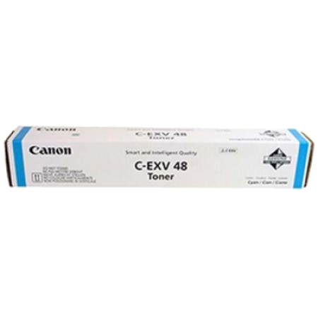 Canon Copier C-EXV48 Cyan Toner Cartridges - 9107B002