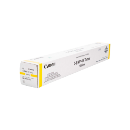 Canon Copier C-EXV49 Yellow Toner Cartridges - 8527B002