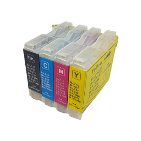 Compatible Brother LC1000 Ink Cartridge Multipack BK/C/M/Y