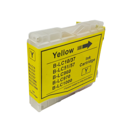 Compatible Brother LC1000 Yellow Ink Cartridge