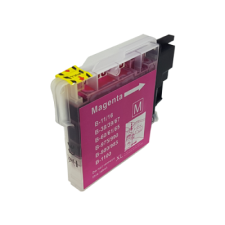 Compatible Brother LC1100 Ink Cartridge Magenta