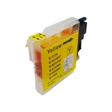 Compatible Brother LC1100 Ink Cartridge Yellow