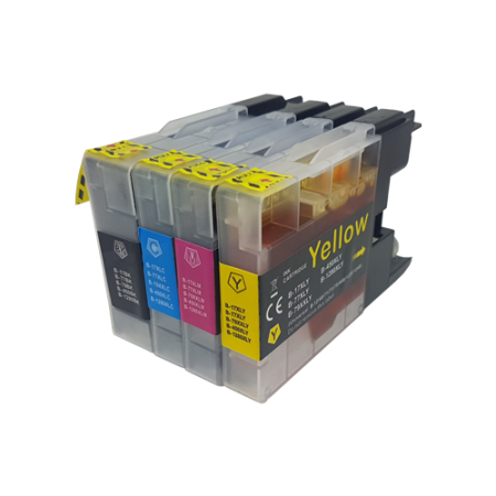 Compatible Brother LC1240 Ink Multipack - 4 Inks