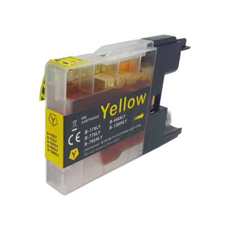 Compatible Brother LC1240 Yellow Ink Cartridge