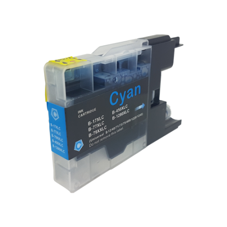 Compatible Brother LC1280 XL Cyan Ink Cartridge