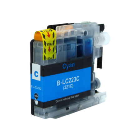 Compatible Brother LC223C Ink Cartridge Cyan