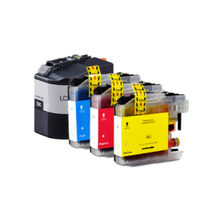 Compatible Brother LC229XXL/LC225XL Ink Cartridge Multipack BK/C/M/Y High Capacity