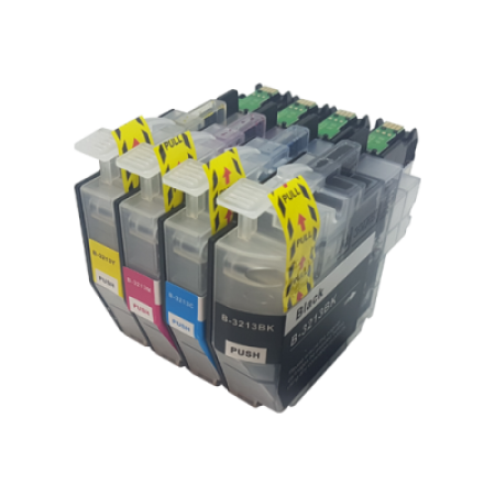 Compatible Brother LC3213 Ink Cartridge Multipack BK/C/M/Y High Capacity