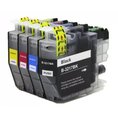 Compatible Brother LC3217XL Ink Cartridge Multipack BK/C/M/Y