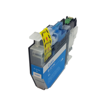 Compatible Brother LC3217XLC Cyan Ink Cartridge