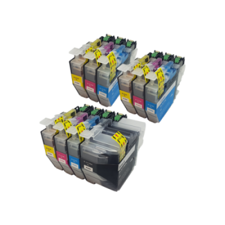 Compatible Brother LC3219XL Ink Cartridge Colour Multipack - 10 Inks