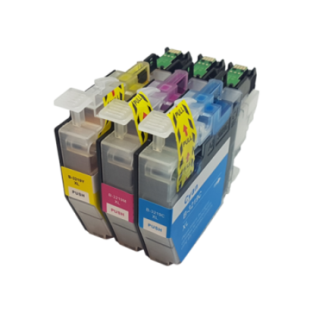 Compatible Brother LC3219XL Ink Cartridge Colour Multipack C/M/Y