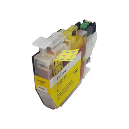 Compatible Brother LC3219XLY High Capacity Yellow Ink Cartridge