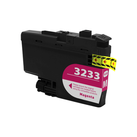Compatible Brother LC3233 Magenta Ink Cartridge
