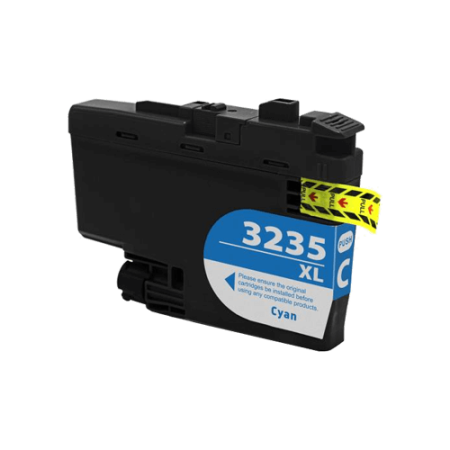 Compatible Brother LC3235 XL Cyan Ink Cartridge