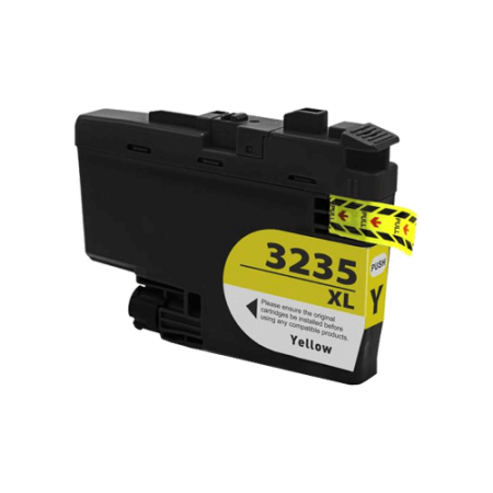 Compatible Brother LC3235 XL Yellow Ink Cartridge