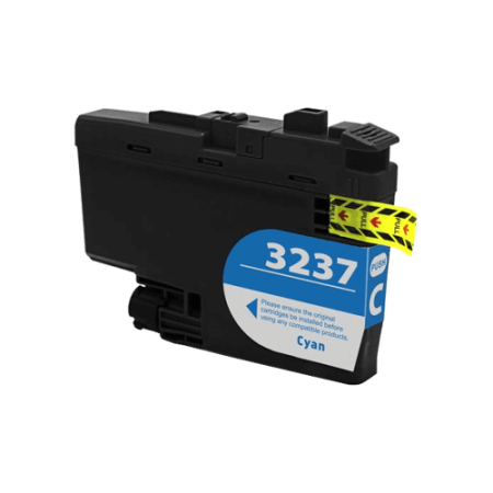 Compatible Brother LC3237 Cyan Ink Cartridge