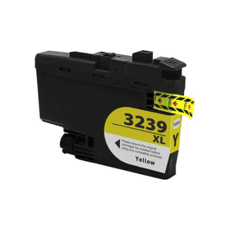 Compatible Brother LC3239 XL Yellow Ink Cartridge