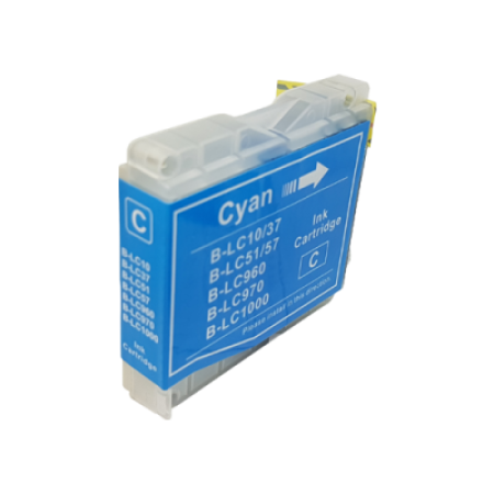 Compatible Brother LC970 Ink Cartridge Cyan