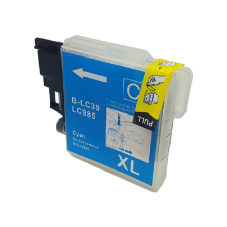 Compatible Brother LC985 Cyan Ink Cartridge