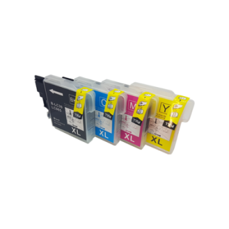 Compatible Brother LC985 Multipack Ink Cartridge BK/C/M/Y