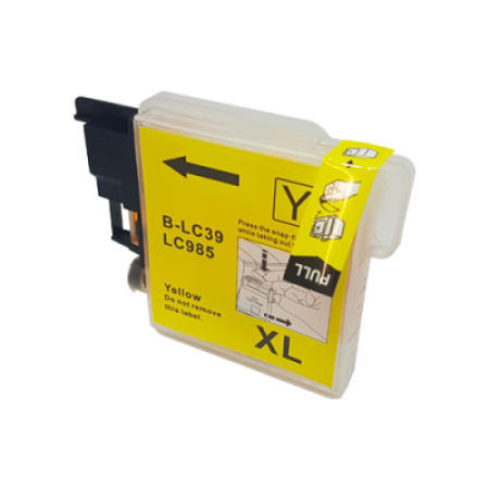 Compatible Brother LC985 Yellow Ink Cartridge