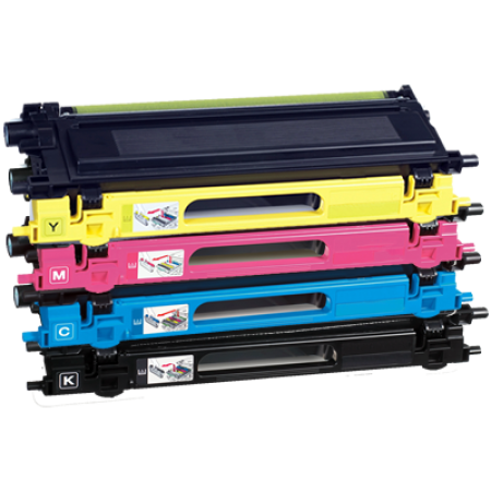 Compatible Brother TN-230 Toner Cartridge Multipack BK/C/M/Y 4 Toners