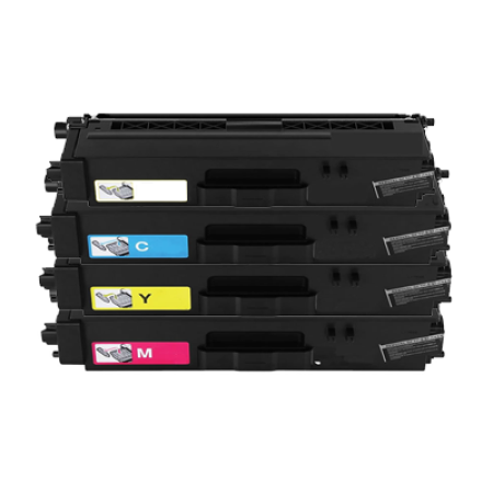 Compatible Brother TN321 Toner Cartridge Multipack BK/C/M/Y 4 Toners