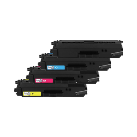 Compatible Brother TN326 Toner Cartridge Multipack BK/C/M/Y 4 Toners High Capacity