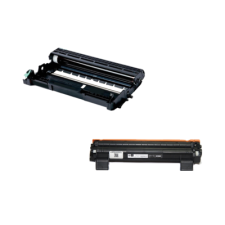 Compatible Brother TN1050/DR1050 Drum and Toner Unit Bundle Pack