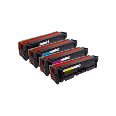 Compatible Canon 045H XL Toner Cartridge Multipack - 4 Toners