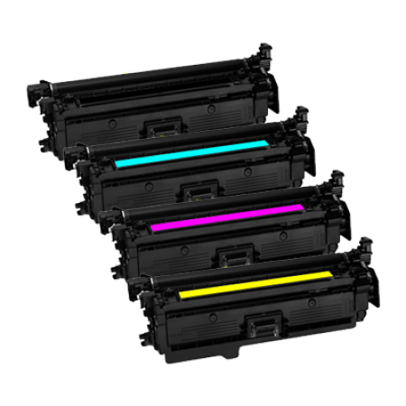 Compatible Canon 046 Toner Cartridge Multipack - 4 Toners