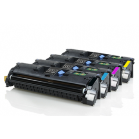 Compatible Canon 701 Rainbow Pack Toner Cartridges